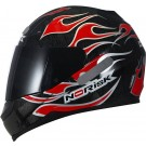 CAPACETE NORISK  FF 391 FIRE RED TAMANHO 61