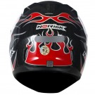 CAPACETE NORISK  FF 391 FIRE RED TAMANHO 54